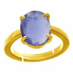Iolite Ring Asthdhatu Gemstone