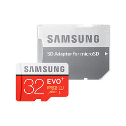 Samsung Evo Plus 32GB Memory Card With Adapter, MP3 Player and Tablets
