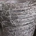 Iron Silver Fencing Barbed Wire, Size: 12x12