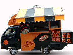 Food Serving Catering Van