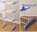 Cloth Dryer 2 Poll Jumbo Stand 3 Layer Clothes Hanger Rack