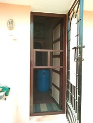 Aluminium Frame Mosquito Screen Door