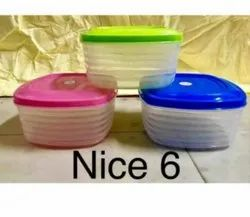 Nice 6 Plastic Container 1800ml