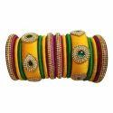 Vibrant Silk Thread Bangles