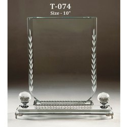 Decorative Crystal Memento Trophy