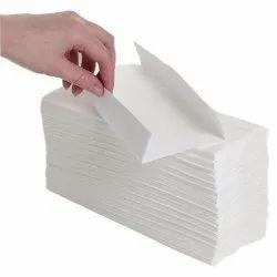 White Plain C Fold Hand Towels