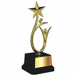 Human Star Plastic Trophy