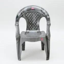 Avon 7005 Silver Medium Back Plastic Chair