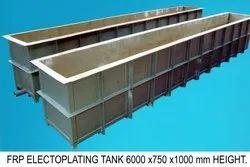 FRP Electroplating Tank