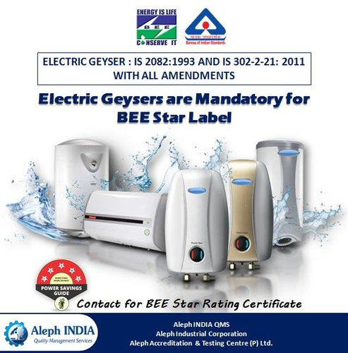 BEE Star Rating Certification