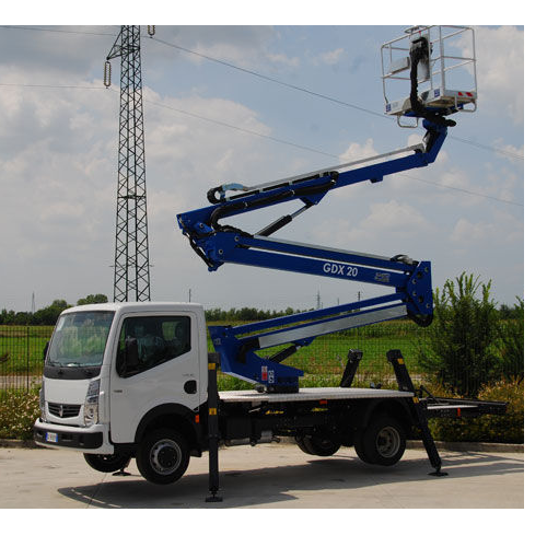Diesel Truck Mounted Lift Hiring Services, Capacity: 1000 kg