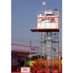 Passenger and Material Hoist Rental Services, Capacity: 1.2 ton - 30 ton