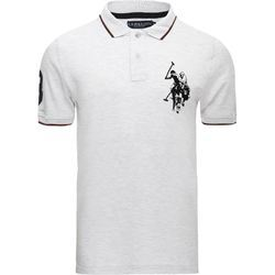 White Collar Neck Mens Polo T-Shirt