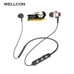 Wellcon High Quality Headband Stereo Magnetic Rechargeable Headset