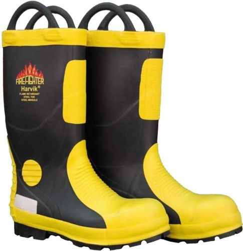 Harvik Fire Fighter Safety Boots Unique Safety Services