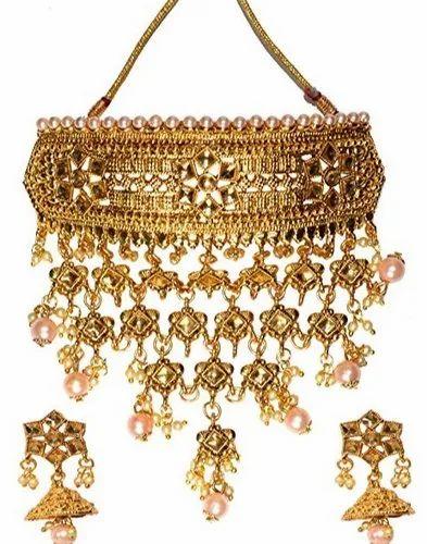 Emerald Choker Set Emerald and Gold Rani Choker Set Indian Jewellery Polki Jewelry Kundan Jewellery Indian Non Bridal Indian Bridal