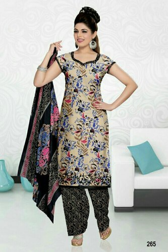779db6dafcb91 Monika - Printed Cotton Dress Material, Rs 300 /piece, Yunus E-Store ...
