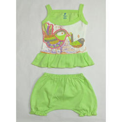 Cotton Baby Girl Top and Shorts