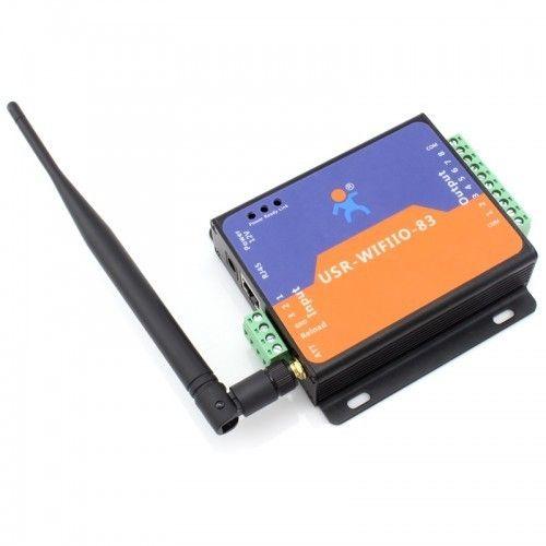 8 Channel Wifi Ethernet Io Relay Control Switch Usr Wifiio 8