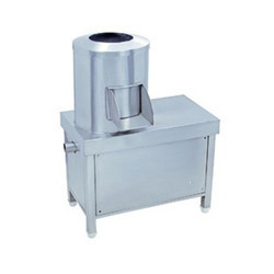 Batch Type Semi Automatic Potato Peeler