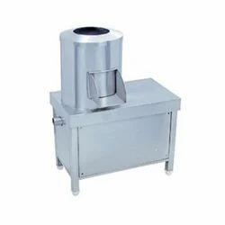 Batch Type Semi Automatic Potato Peeler