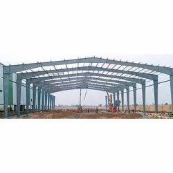 PEB Shed Construction Service, स्टील पीईबी शेड