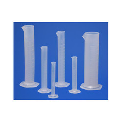 Measuring Cylinder Hexagonal Base PP