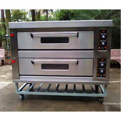 Silver Electric Baking Oven for Pizza