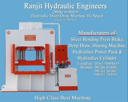 Hydraulic Deep Drawing Press 500 Ton