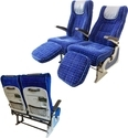 Meenakshi Polymers Red, Blue Semi Sleeper Bus Seats, For Garage