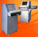 Industrial Kiosk with Barcode Scanner