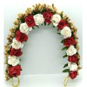 Rose Artificial Flower Brooch