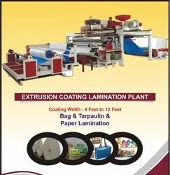 Extrusion Coating Jute Lamination Plant