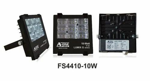 Aluminium Cool White 10W LED Flood Light, IP Rating: IP 65