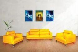 Bold Bella Bonny Yellow Sofa Set