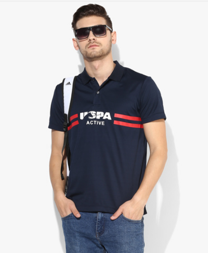 Chawla Traders Wholesaler Of U S Polo Assn White Graphic Regular
