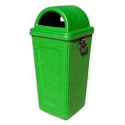 Green Plastics Dustbins