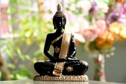 9 Inch Resin Made Budha Statue
