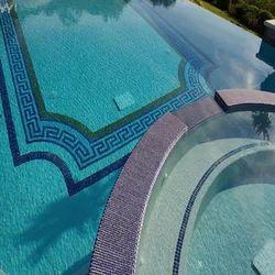 Swimming Pool Glass Mosaic Tiles