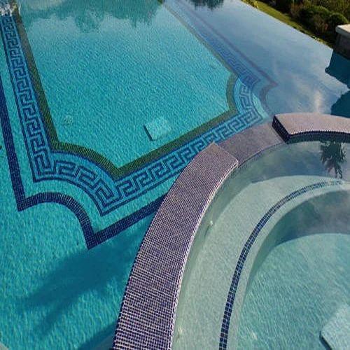 Swimming Pool Tiles - Swimming Pool Glass Mosaic Tiles ...