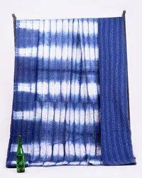 Tie Dye Kantha Bedspread