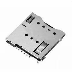MUP-C792 8 Pin Micro SIM Card Connector (Push-Push Lock Type)
