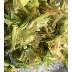 Indian Green Fresh Sweet Corn Husk, High in Protein, Packaging Type: Pp Bag