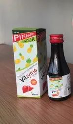 Digestive Enzyme, Fungal Diastase and Pepsin Syrup