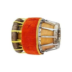 Brown Sruthilaya Thavil Musical Instrument, Size: 12x26x12 Inch