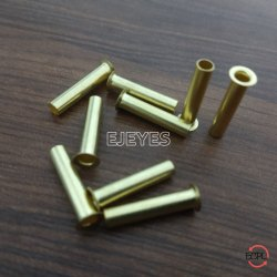 17mm Brass Tube Tubular Rivets Golden