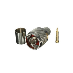 Brass N Male Connector for Telecom/Data/Network