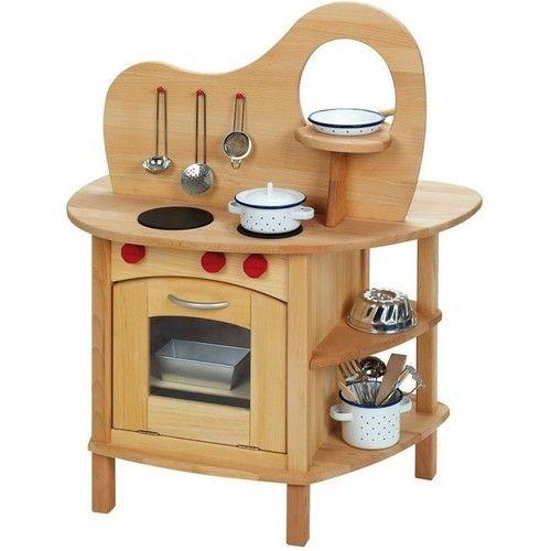Wooden Toy Kitchen | Wooden Toy Kitchen Set