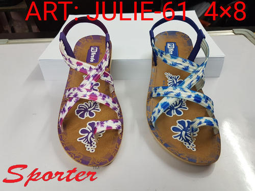 61eab60edcdc Sporter Women Girls Multicolor Flats Fashion Sandals