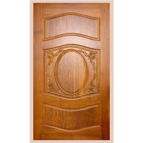 Brown Burma Teak Wood Door Rs 90500 Piece Msj Door Palace